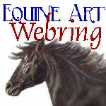 The Equine Art Webring homepage